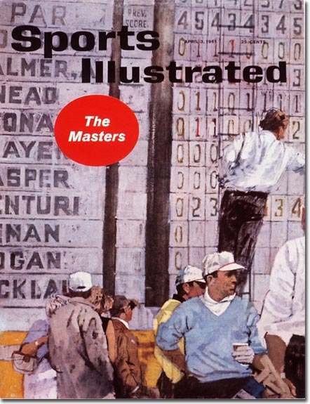 Bernie Fuchs Sports Illustrated cover from 1961