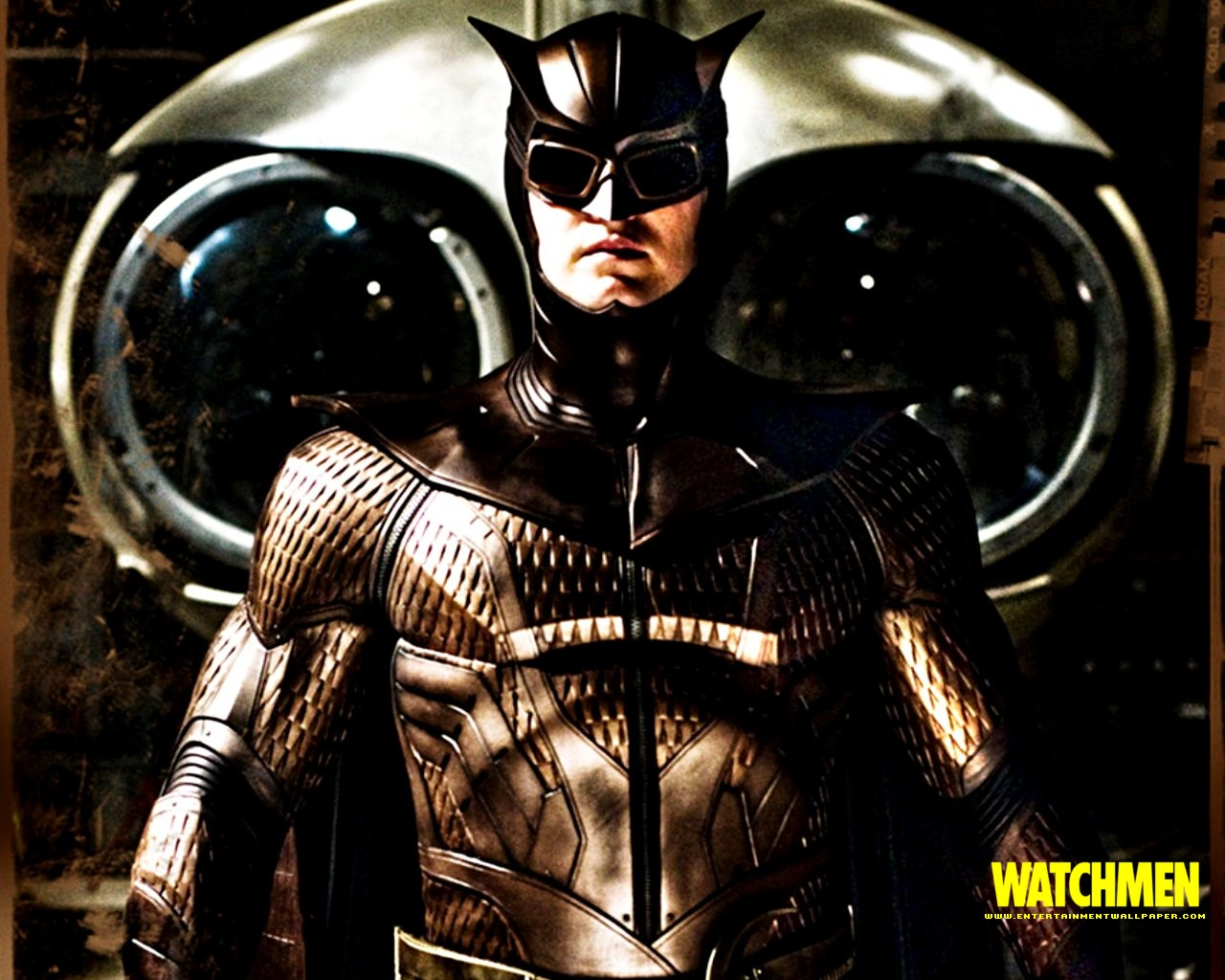 Promotional digital desktop, Watchmen motion picture, 2009