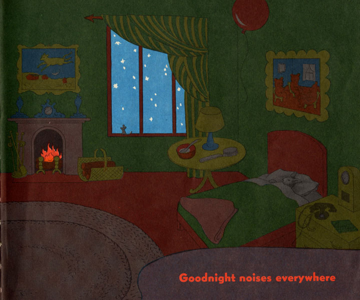Clement Hurd, the concluding illustration in Goodnight, Moon .