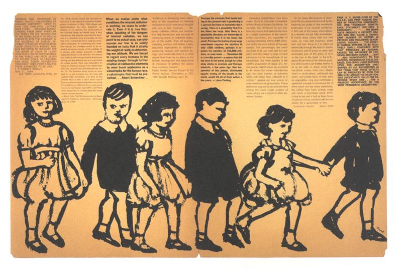 Seymour Chwast, illustration in Pushpin  #21, 1959.