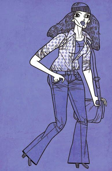Toby Thane Neighbors, illustration for Faesthetic  No. 13