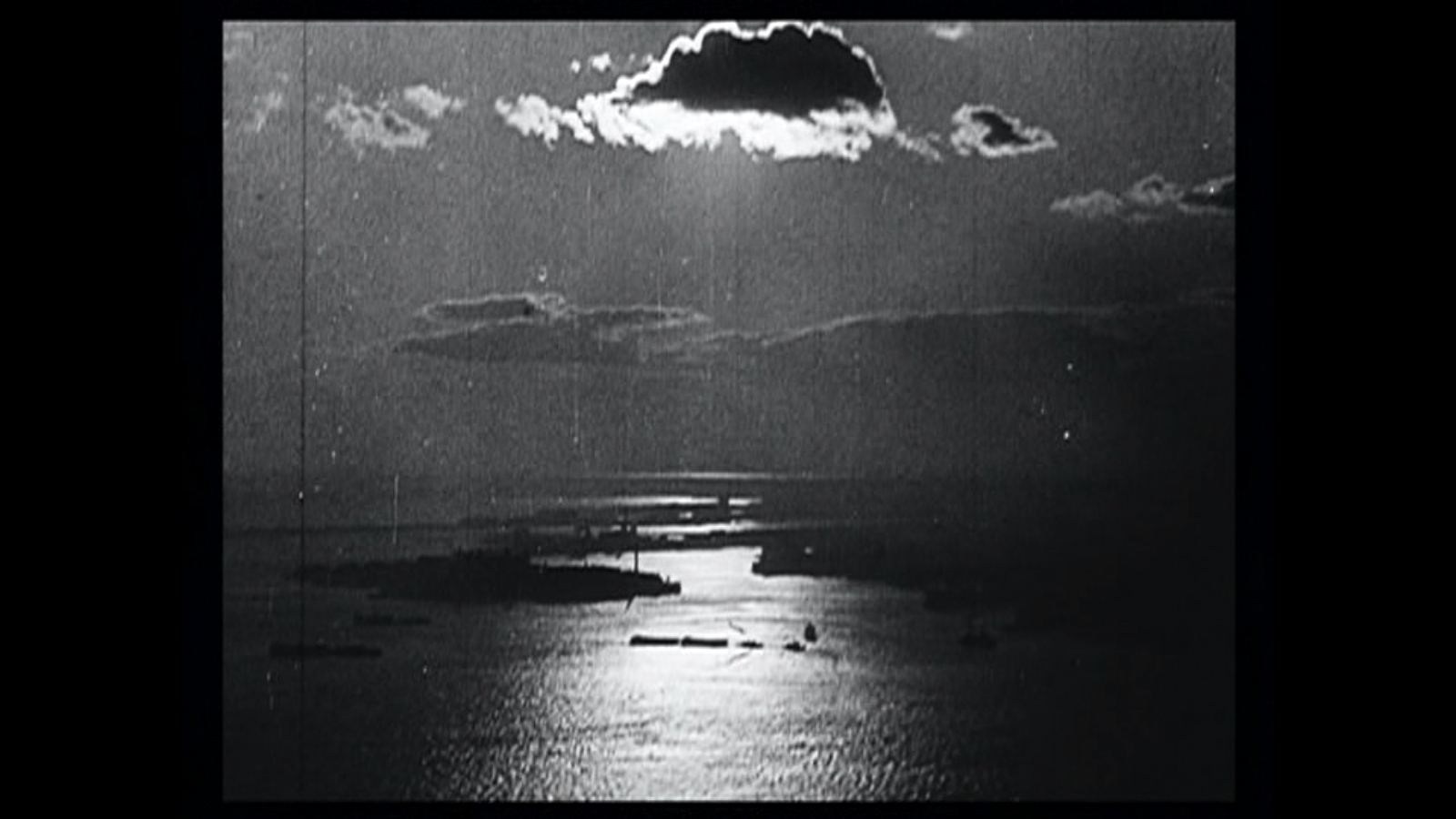 End of day, end of story. Still from  Manhatta  .