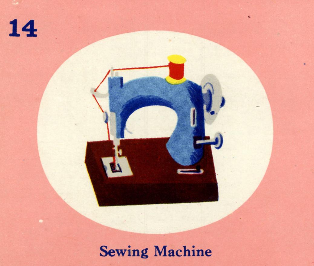 C. Clement,  Sewing Machine  , circa 1950.