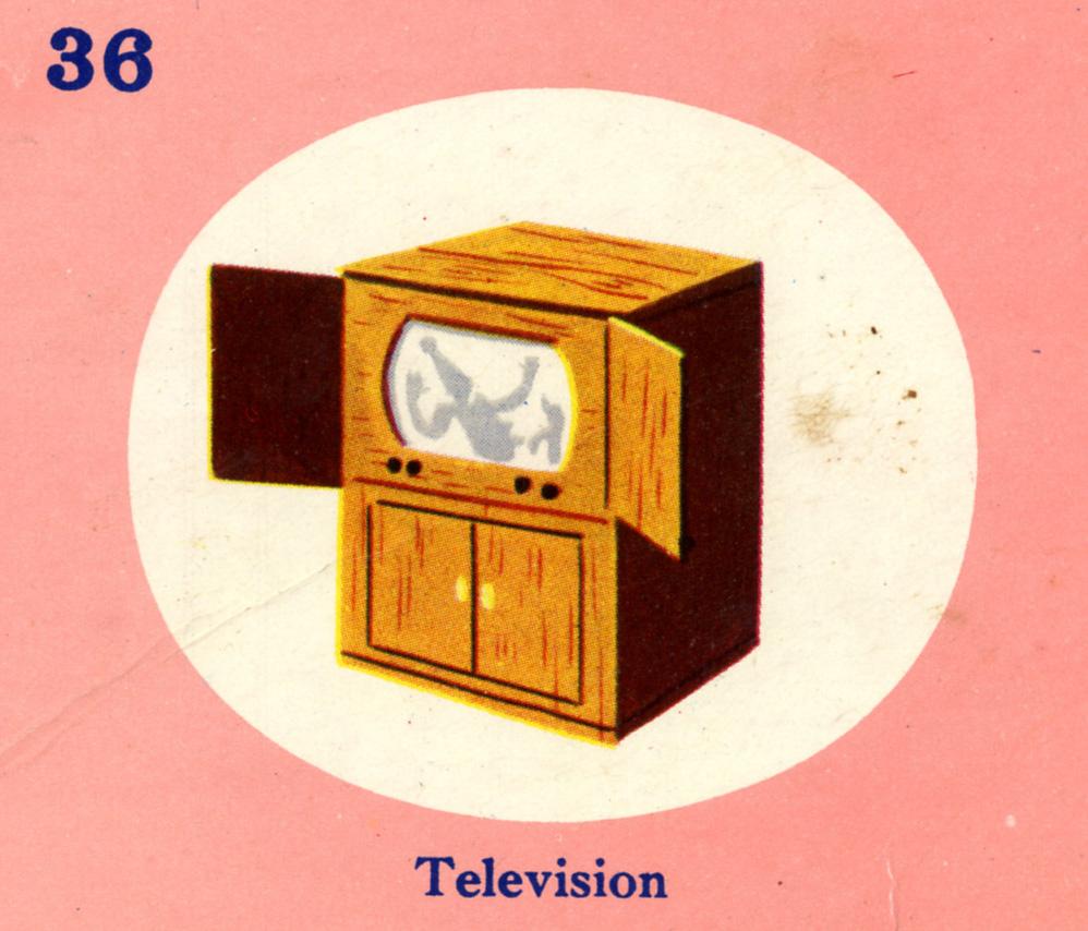 C. Clement,  Television Set,  circa 1950.