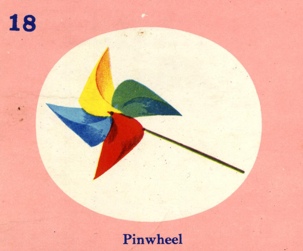 C. Clement,  Pinwheel,  circa 1950.