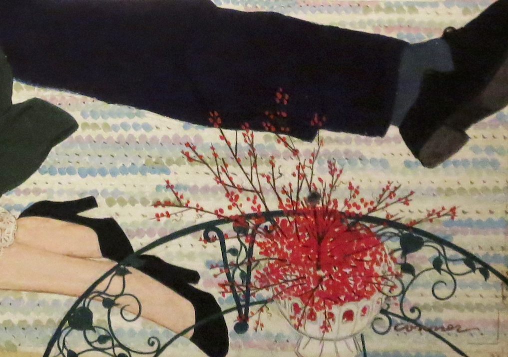 """Mac Conner, illustration detail, """"The Other Father."""" 1949."""