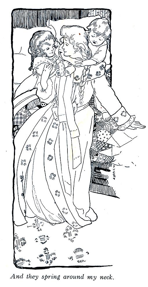 FY Cory, interior illustration. Harper's Bazaar , 1903.