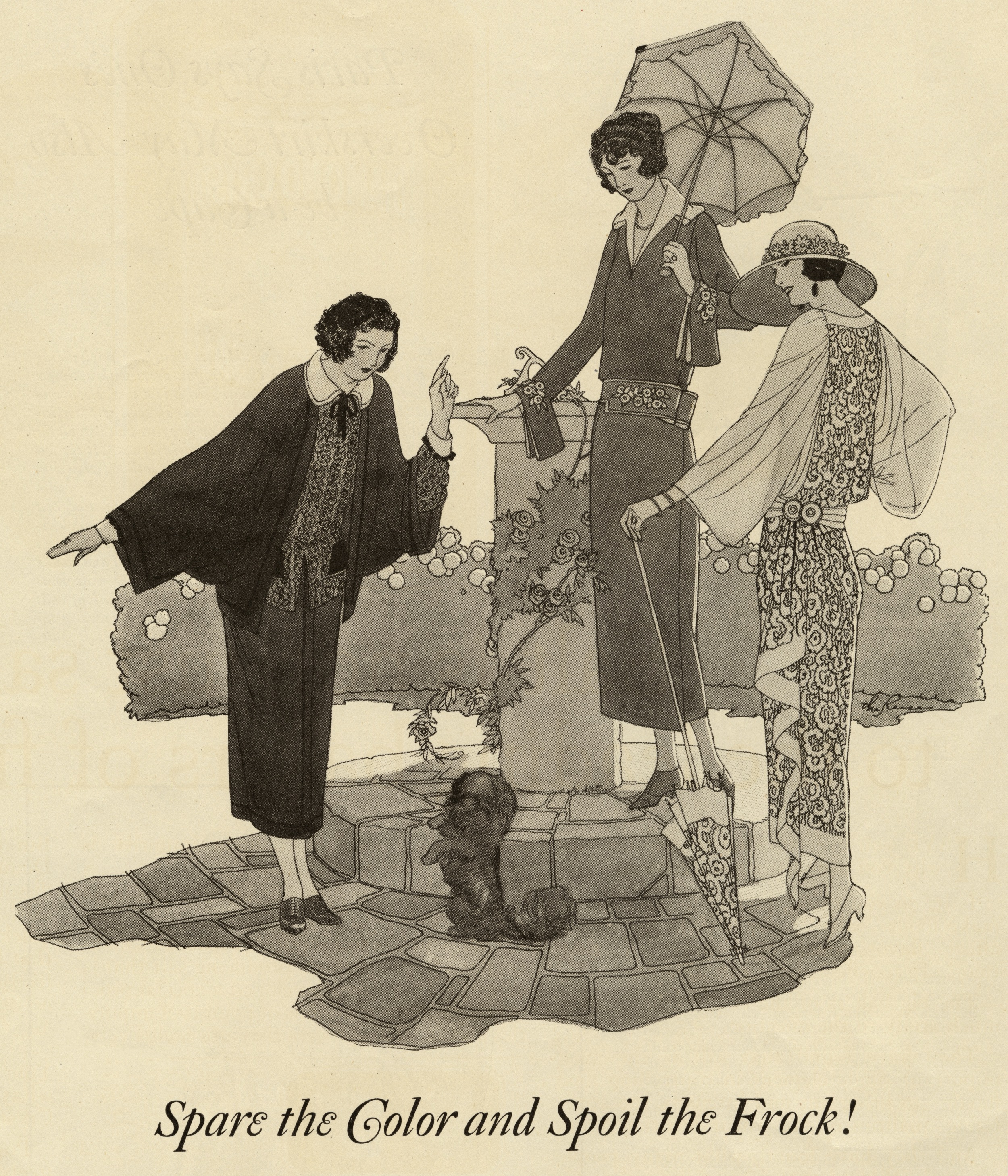 The Reeses, Print ad in  Ladies Home Journal . July 1922.