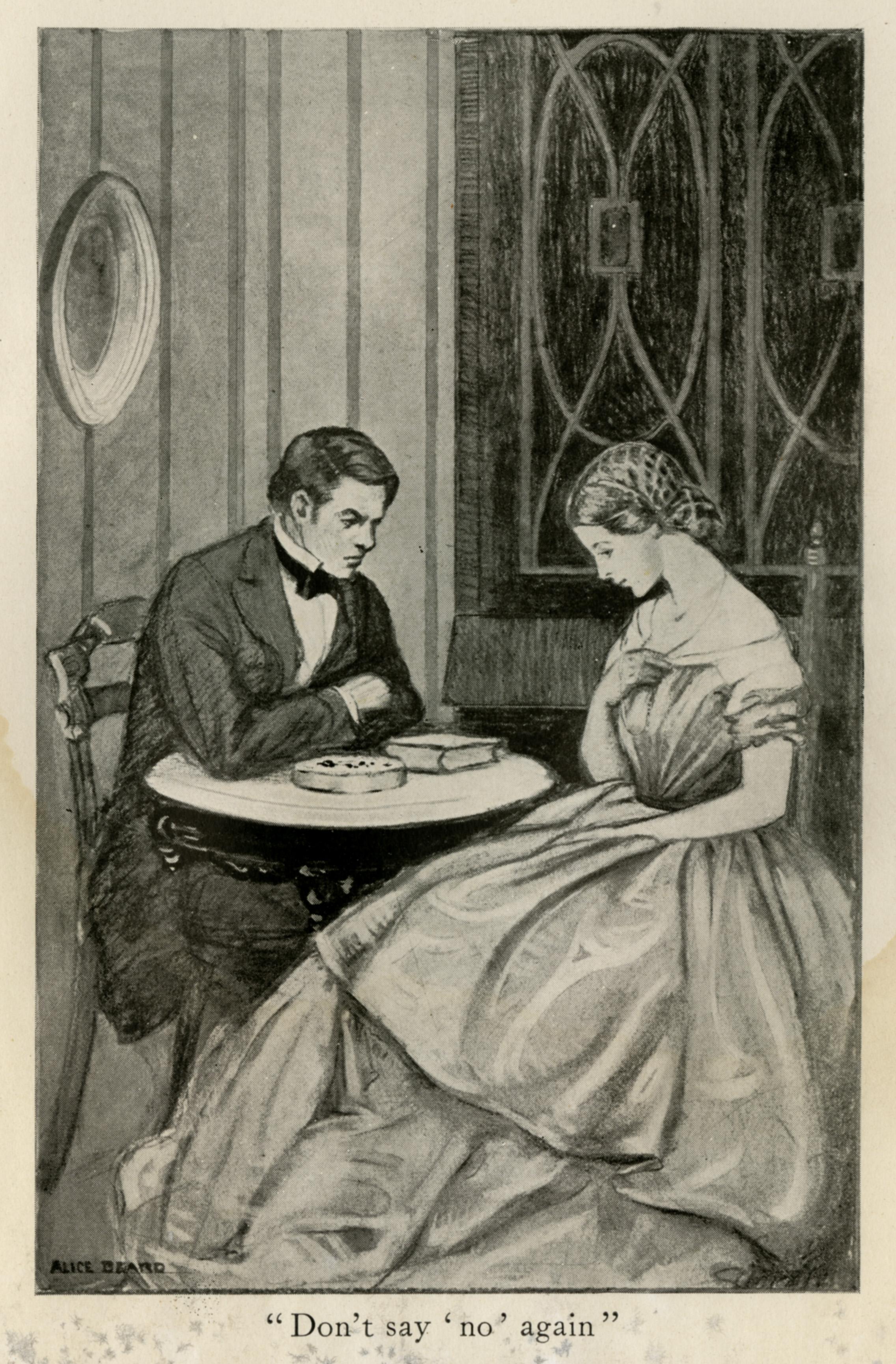 Alice Beard, illustration from  Elizabeth Bess. 1917.