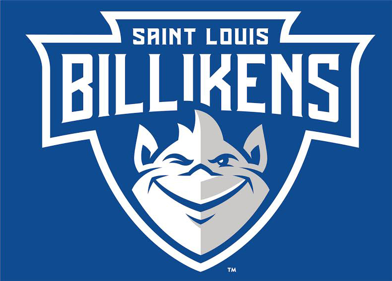 The new Saint Louis University Billikens mark, designed by Olson, a brand shop in Minneapolis. 2015.
