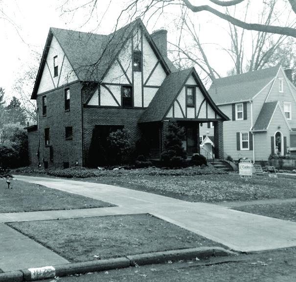 The house at 1021 Oxford NE, Massillon, Ohio, where Jim Dowd spent his childhood.