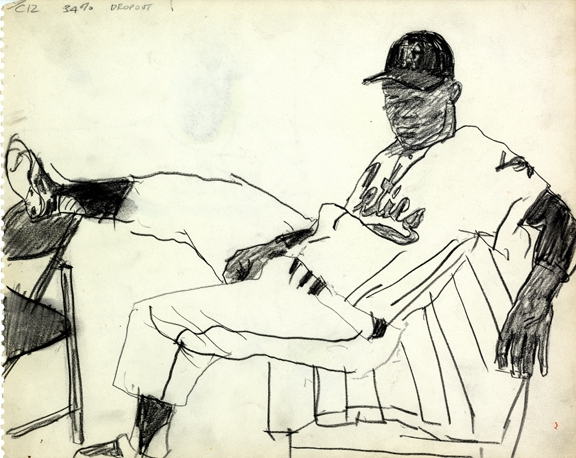 Robert Weaver, unpublished drawing, 1962.