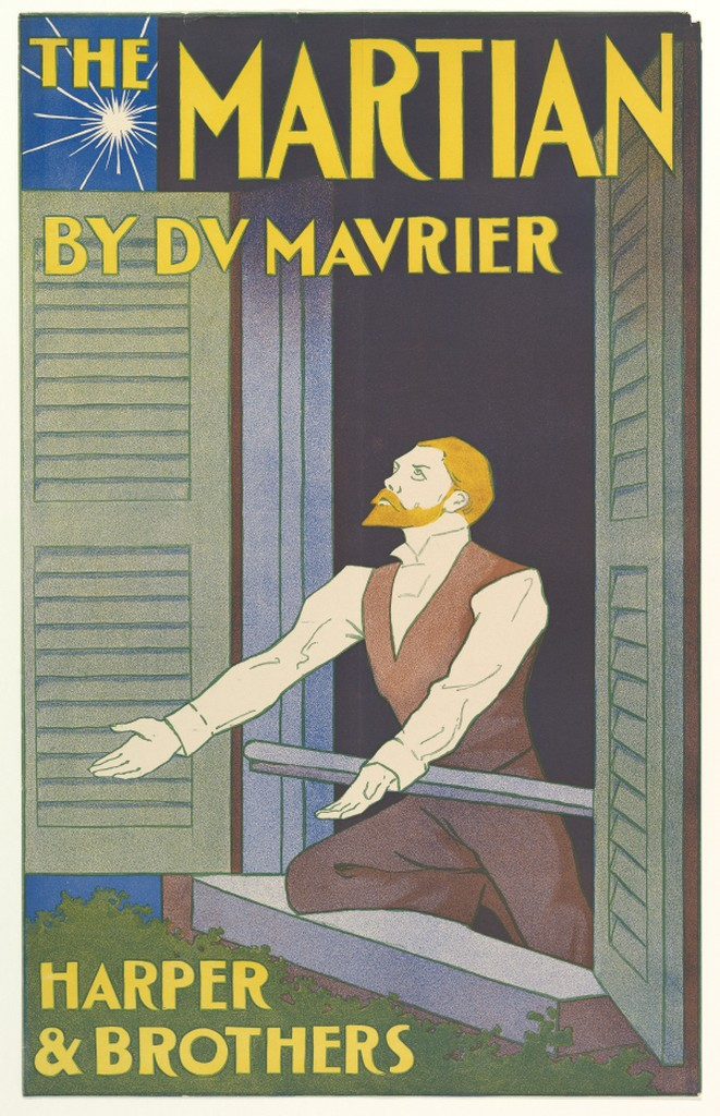 Edward Penfield, poster advertising The Martian, 1897. Lithograph.