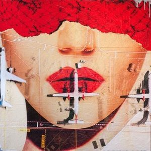 Anyes Galleani   Mixed Media on Wood   Starting at $3,100