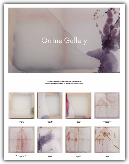 Easy Purchasing - We make buying your artwork easy to collectors by offering an online store that is secure and trusted with a variety of payment features and providing a 14-day money back guarantee with low-cost shipping rates.