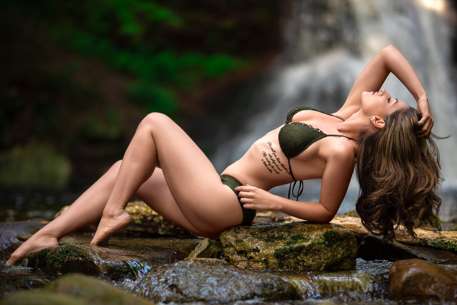 Jenny Bee - Waterfall Workshop Bikini