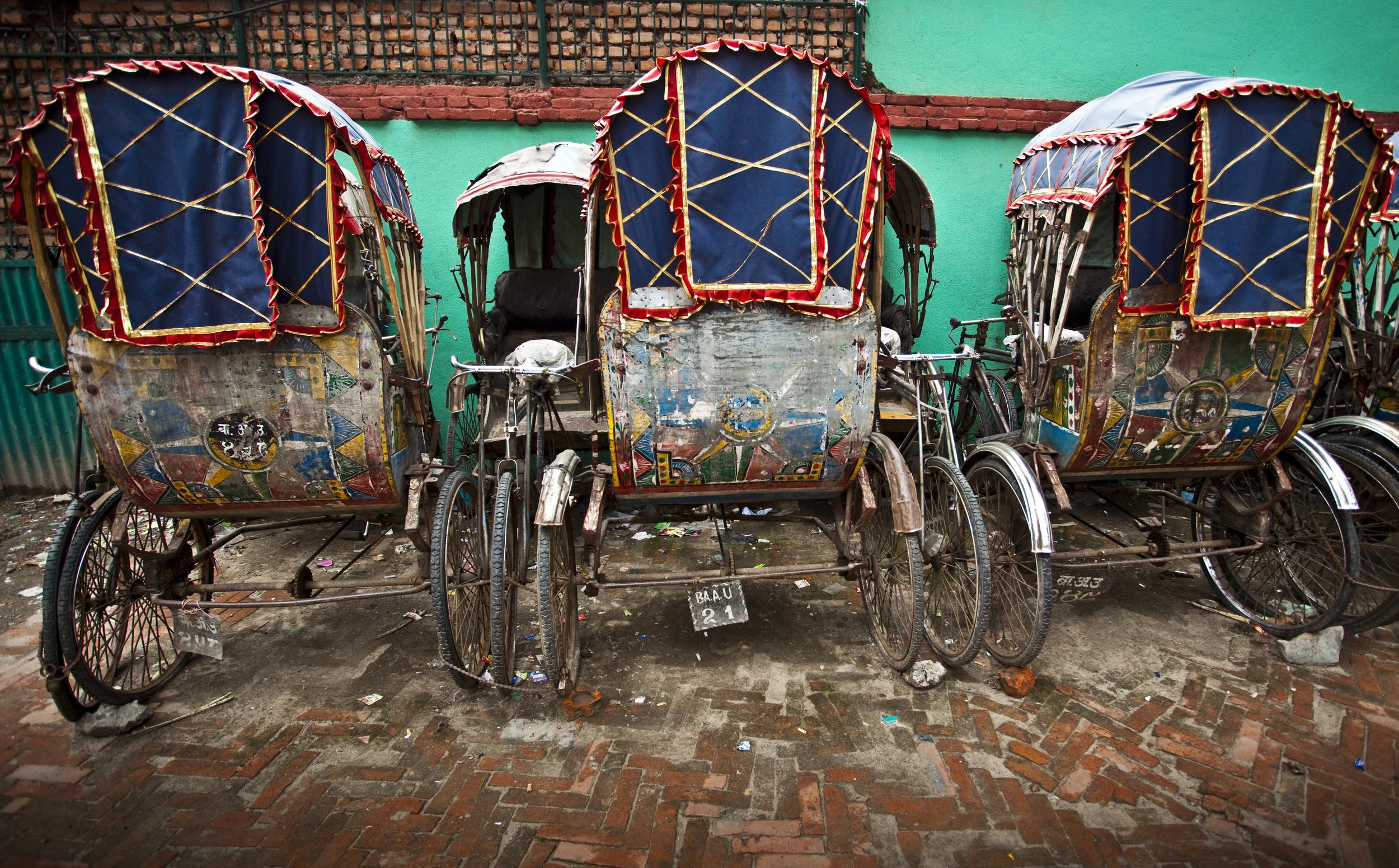 Rickshaw Parking