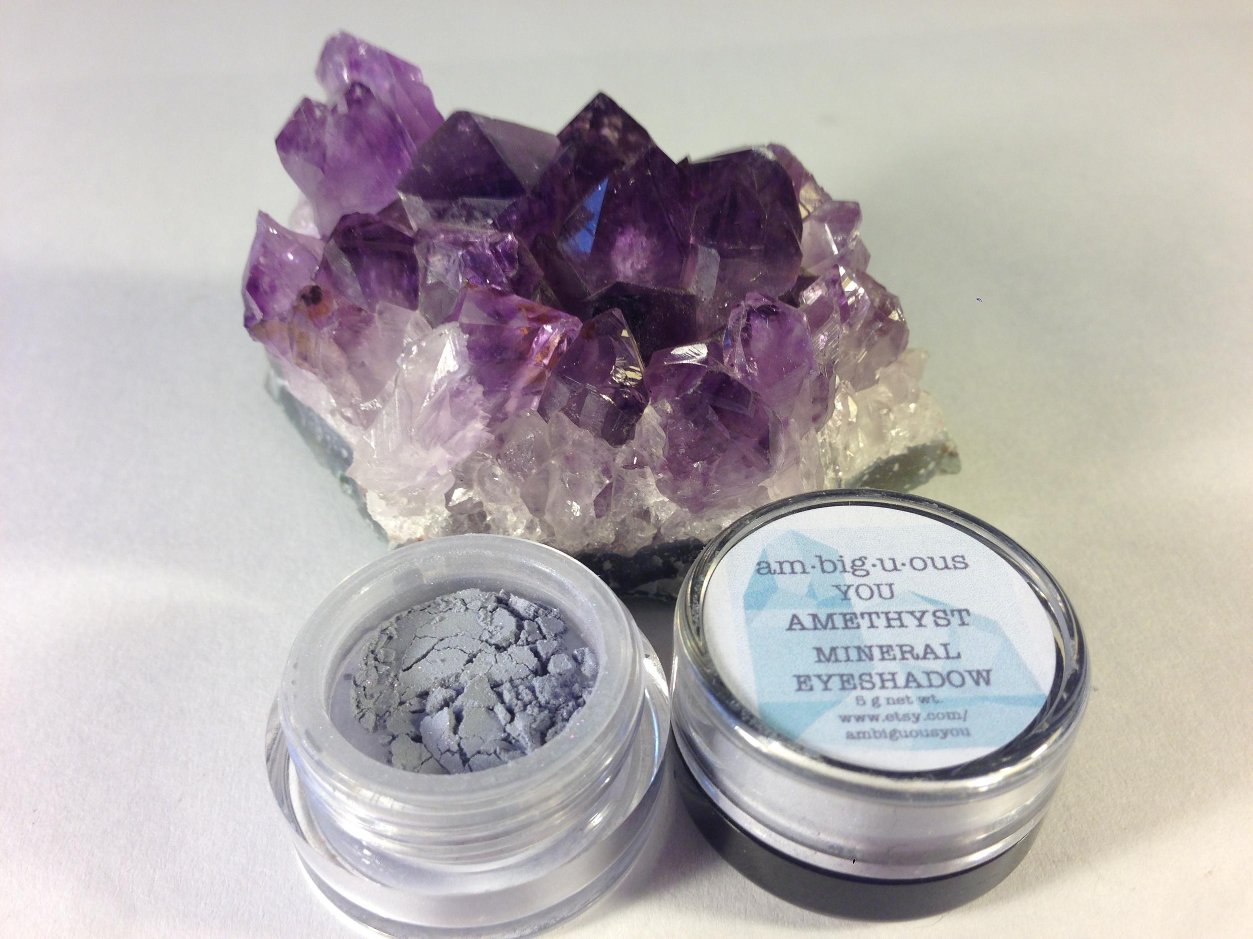 Amethyst Mineral Eyeshadow