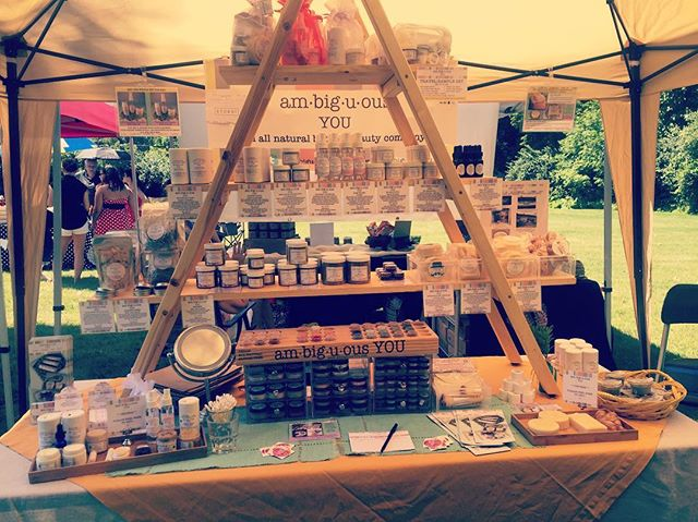 We are all set up at the Summer Vegan Pop-up Market from 12-4 today at Ching Ter Maitreya Temple 2891 E Dublin Granville Rd. Stop by and grab some all natural, vegan, and gluten free bath and beauty products and cosmetics. Tons of vegan food and vendors to check out! #ambiguousyou #itsallnatural #vegan #allnatural #glutenfree #bathandbeauty #cosmetics #popupmarket #columbushandmade