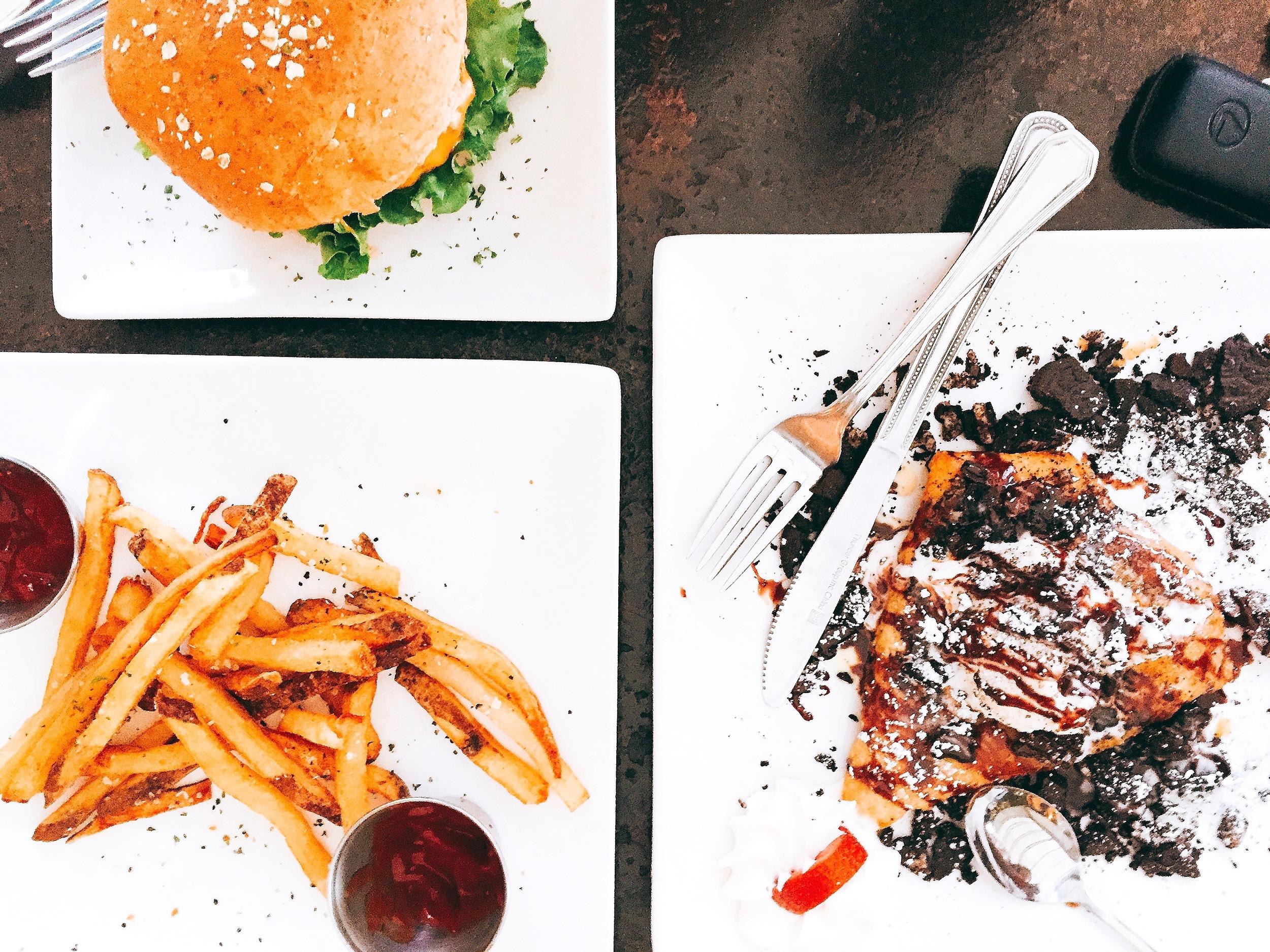 Lunch. Guru Burgers & Crepes. Sugar Land.