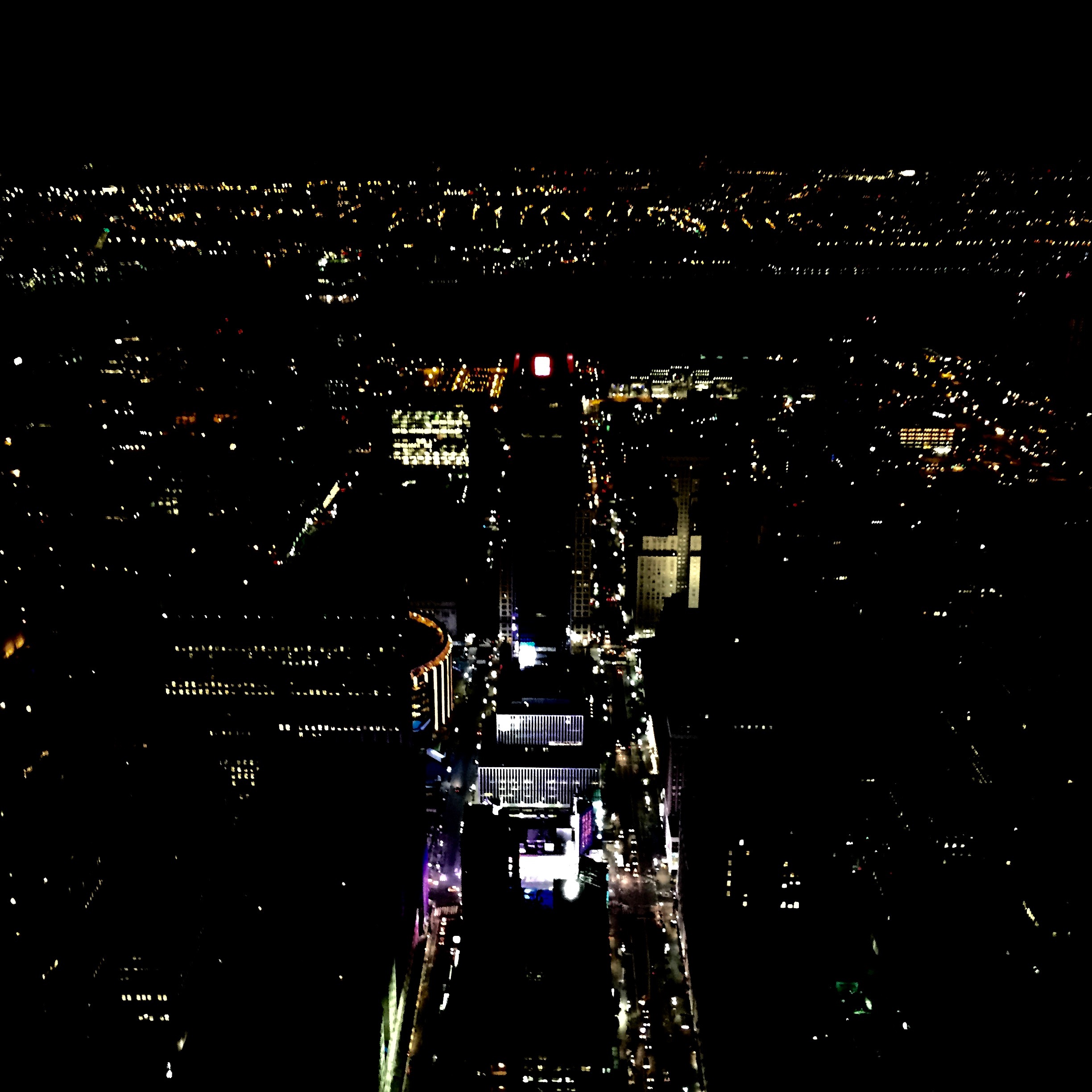 Night views from the top of the Empire