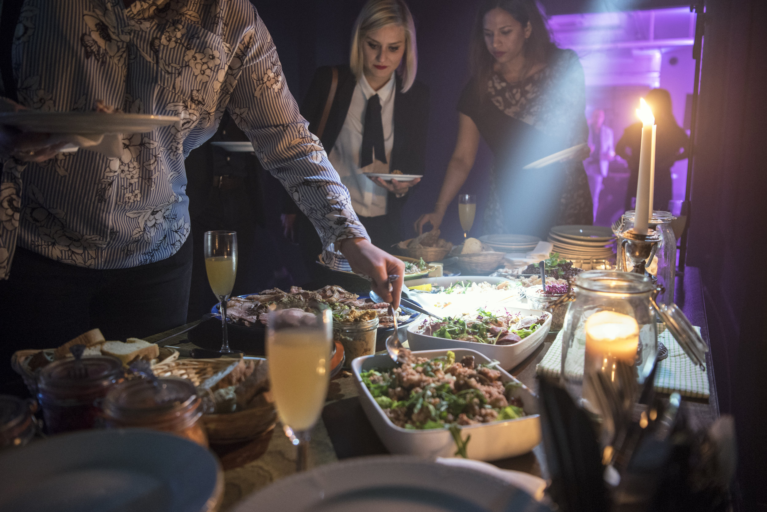 Christmas Parties, Xmas Party, Food & Drink, Sharing feasts, Christmas treats, Event planning, Event management, London Christmas