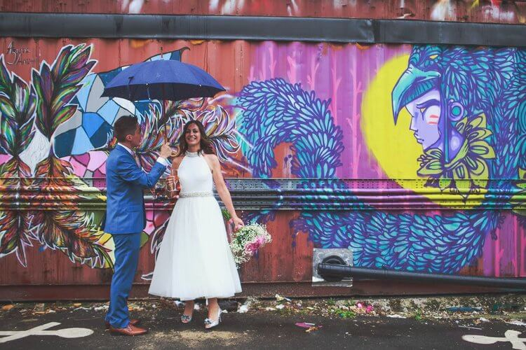 Quirky Venue, Non-traditional wedding planner, London Wedding coordination, Bespoke weddings, Brixton Wedding, Informal