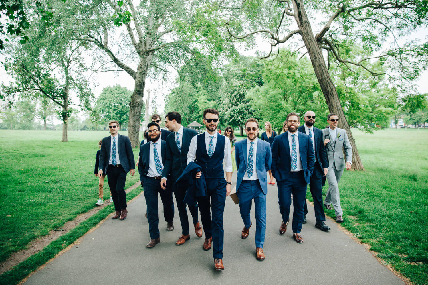 The lads, Quirky Venue, Non-traditional wedding planner, London Wedding coordination, Bespoke weddings, Brixton Wedding, Informal,