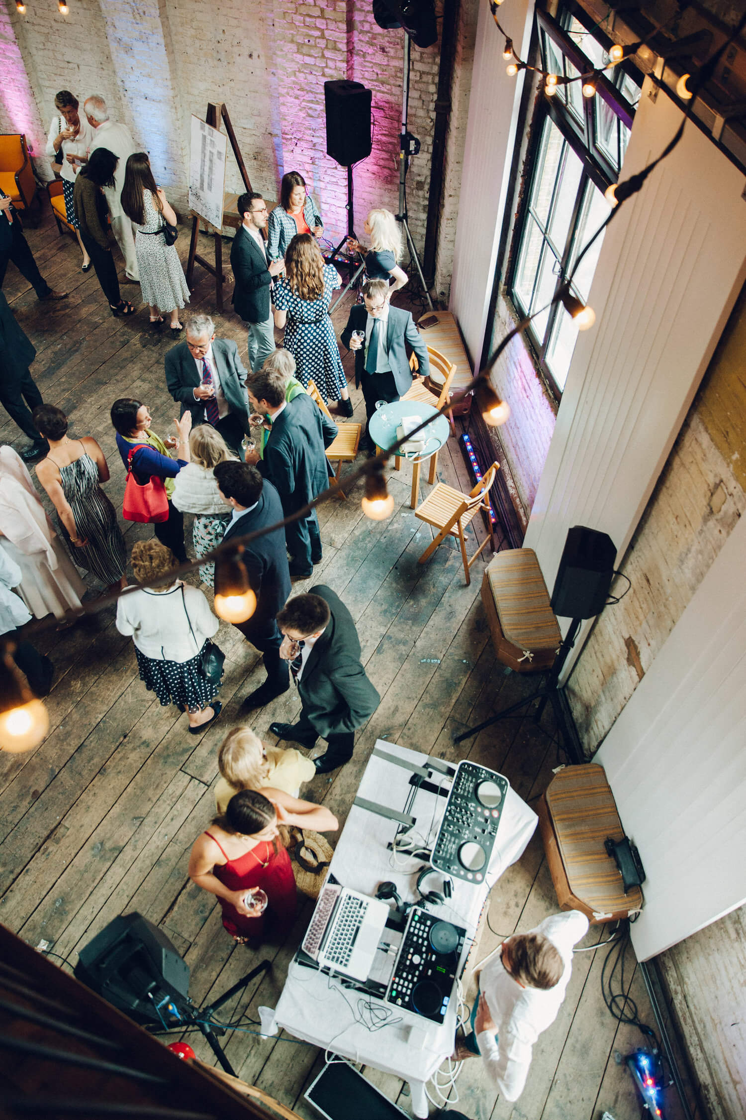 Cool wedding reception, Quirky Venue, Non-traditional wedding planner, London Wedding coordination, Bespoke weddings, Brixton Wedding, Informal,