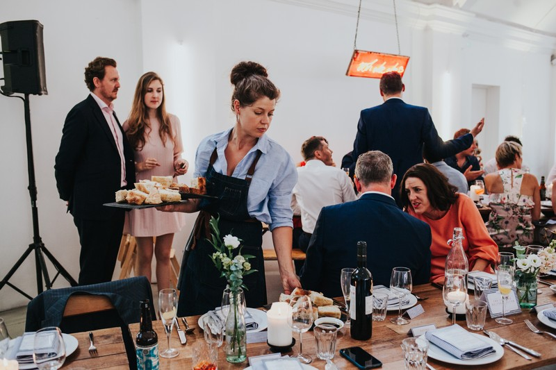 Quirky Venue, Non-traditional wedding planner, London Wedding coordination, Event Bar, Bespoke weddings, East London Wedding, Core Clapton, Foodie wedding, informal, Stylish, Dita Rosted Events