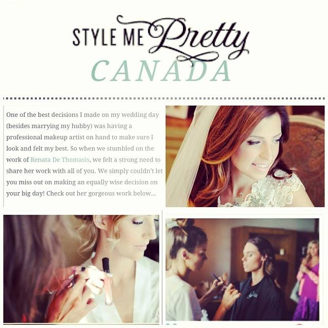 They feature only the most chic and style centric wedding related content, continually discovering new and brilliantly talented vendors, brides with an eye for all things gorgeo    us… And they selected us to be   featured  !     Take a look at their wonderful post about us  here !  I could not be more excited to be part of the Style Me Pretty family!