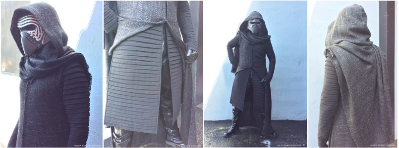 Kylo Ren Cosplay costume by Milda Bublys.