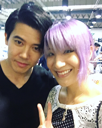 My friend Jeff introduced me to Genji aka Gaku Space. ahh my heart is melting.