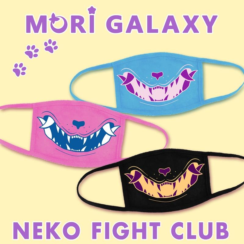 mask half 1_neko fight club_Mori_Galaxy_morigalaxy