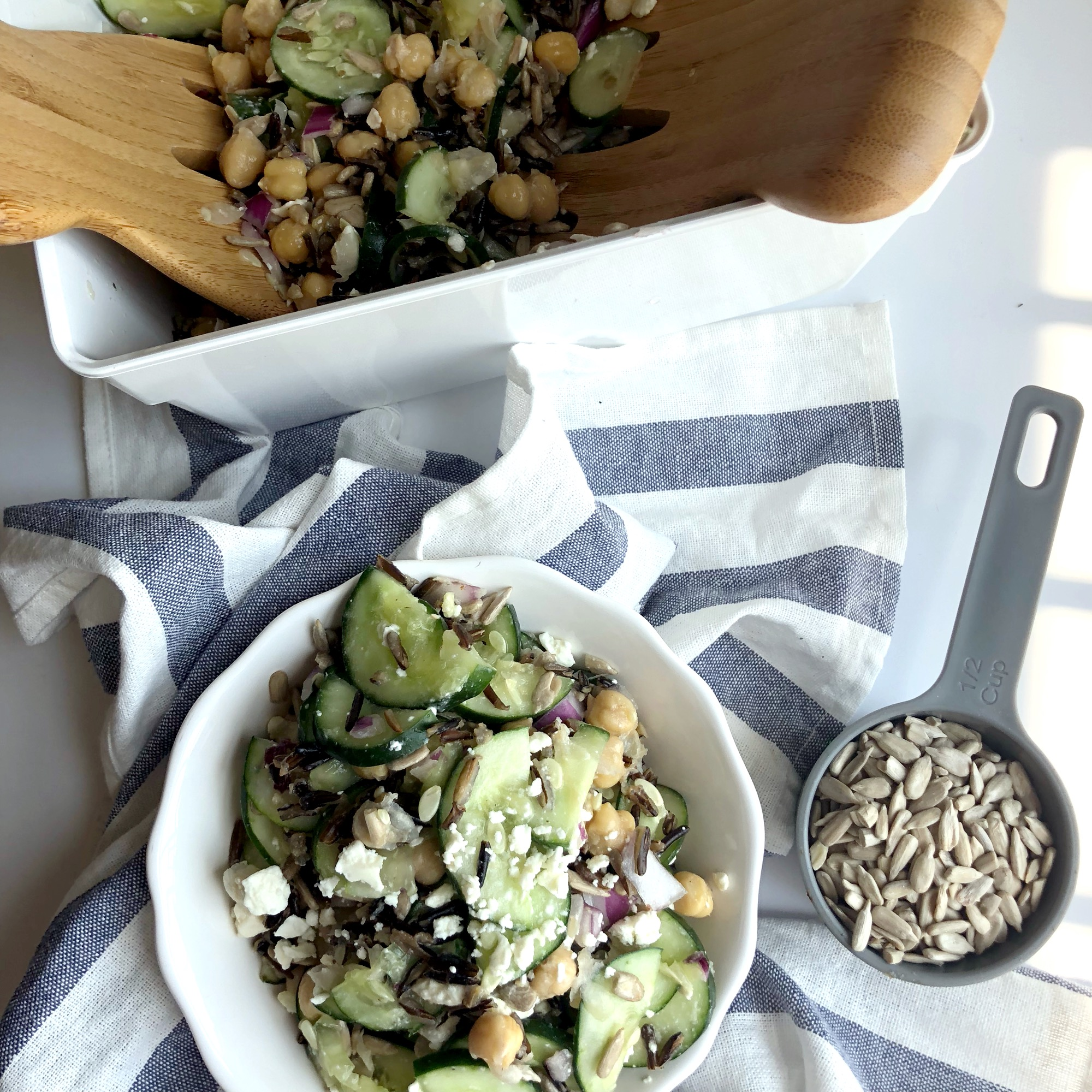 Cucumber Wild Rice Salad