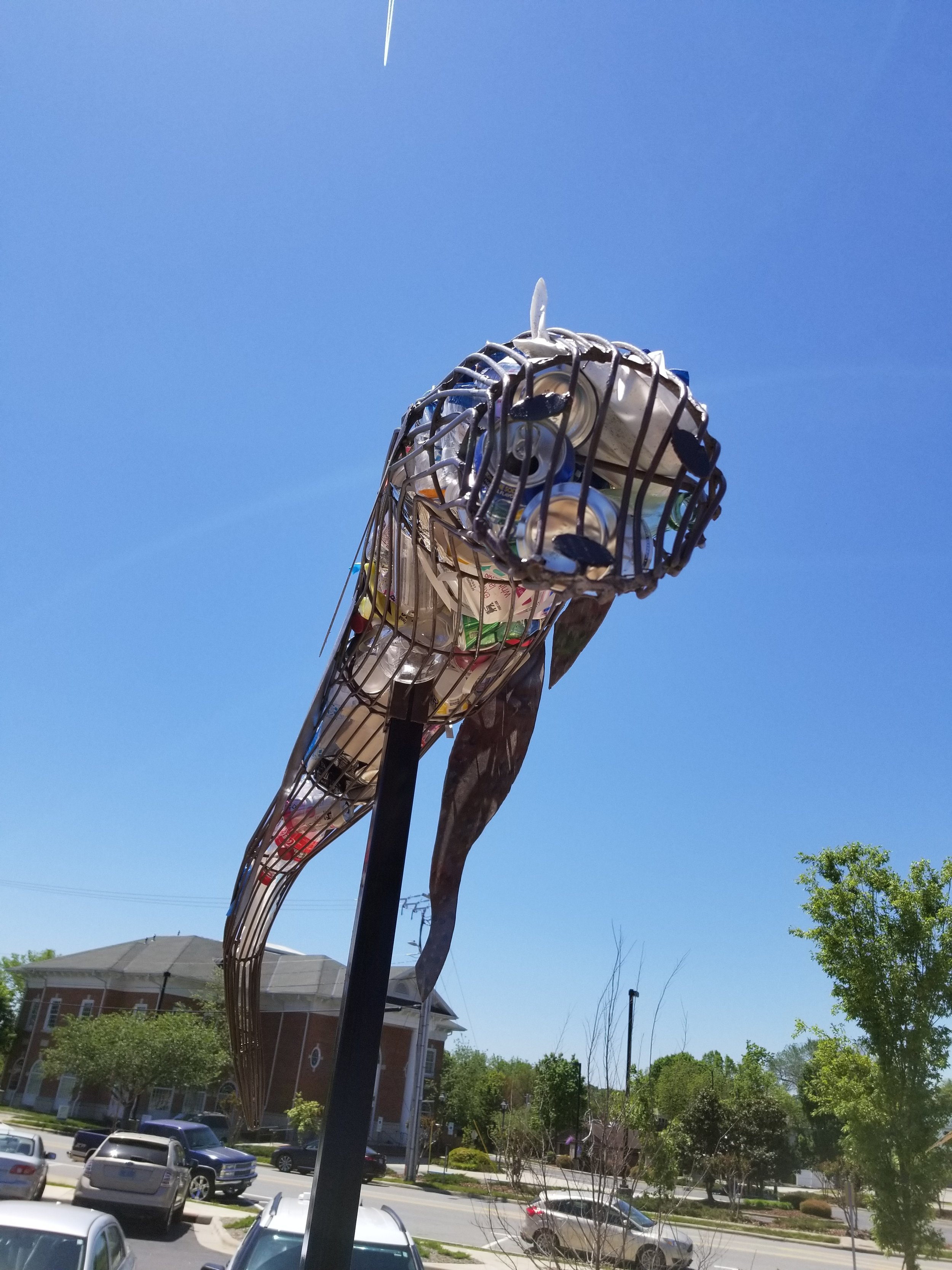 River Otter - High Point Public Library, NC