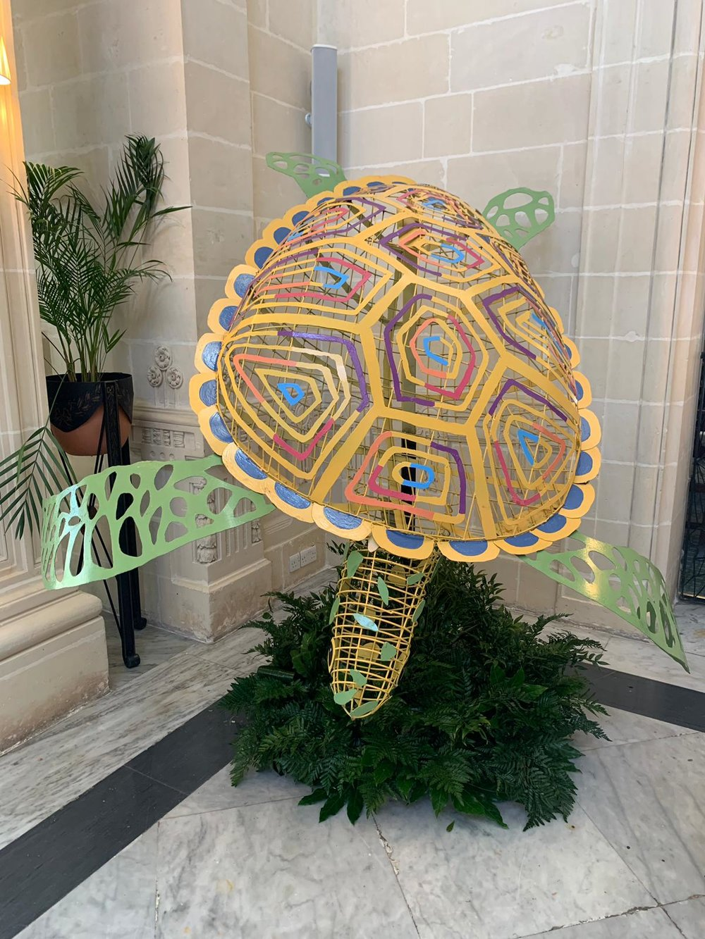 Sea Turtle, 2018  Hotel Corinthia, St. George's Bay, Malta  Sponsored by Lacey Maxwell Experiential and Dell Computers
