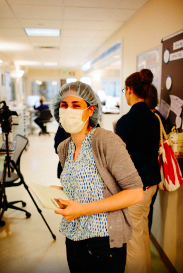 Reporting a story about central line infections at Roseville Hospital in Roseville, CA (Johnny Harris/Vox)