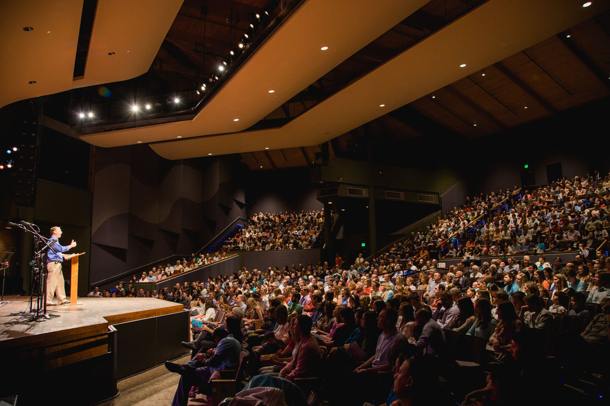 Special all-together church service at the Lincoln Center - 2015