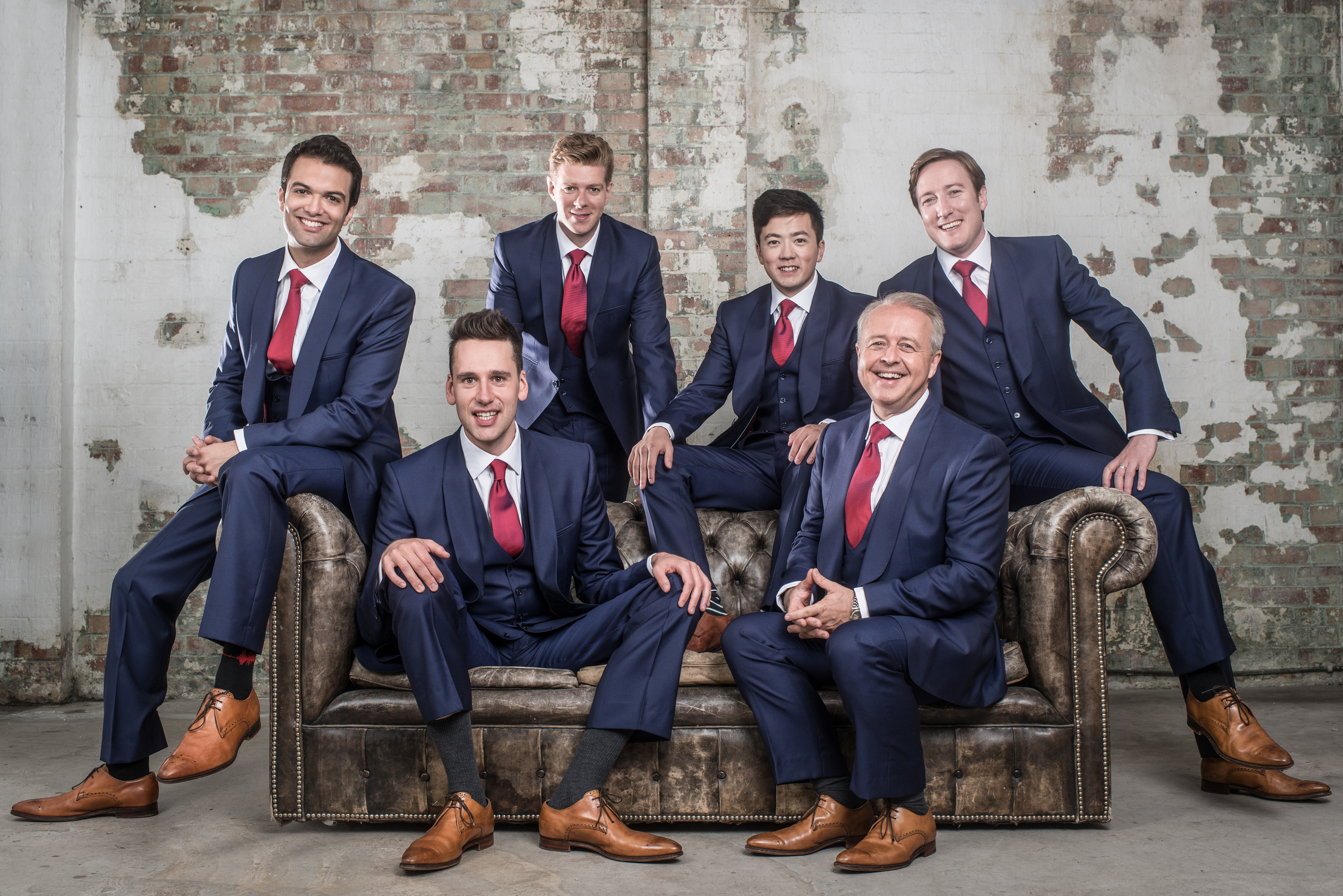 Acclaimed a capella group, The King's Singers