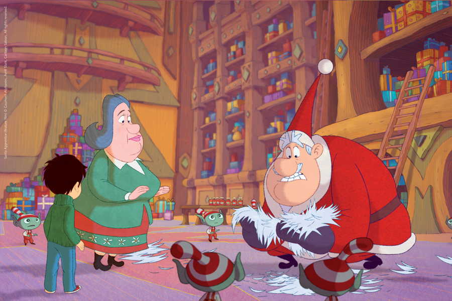 But Christmas has a way of making even the biggest mishaps alright and thanks to his loving mentors, Santa and Waldorf, Nicholas learns, as we all do, the true meaning of Christmas!