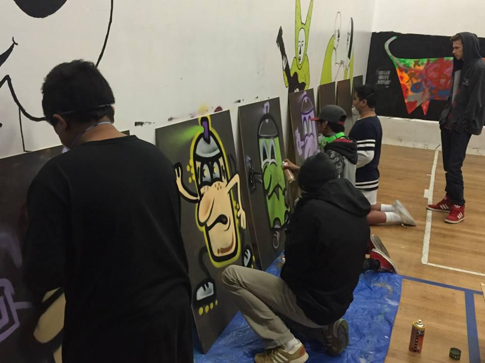 Upper Hutt Community Youth Trust- Street Art Workshop