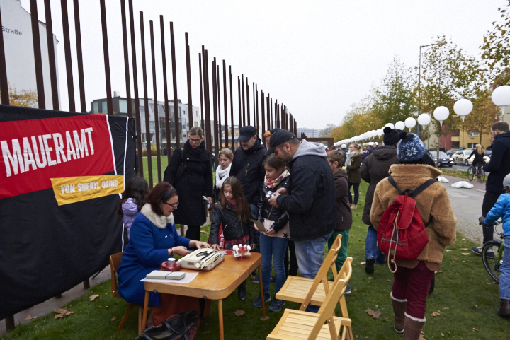 Berlin, November 9, 2014, photo by Dhanraj Emanuel