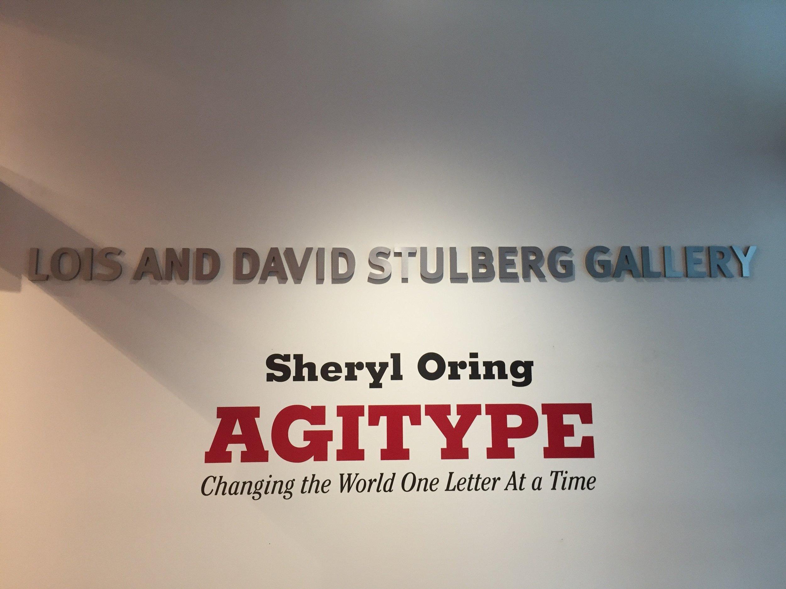 Agitype exhibition
