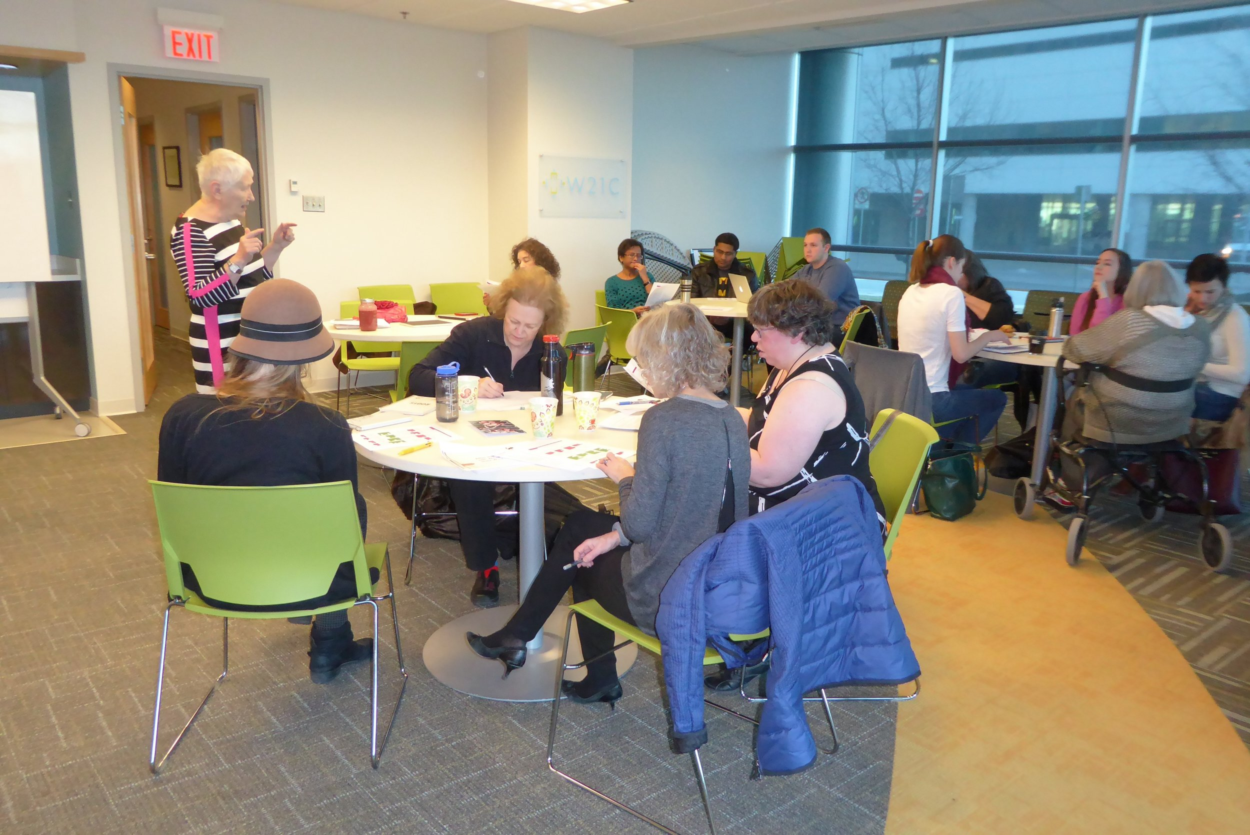 Collaboration    in action - Learning with others is a key part of the PaCER Internship Program
