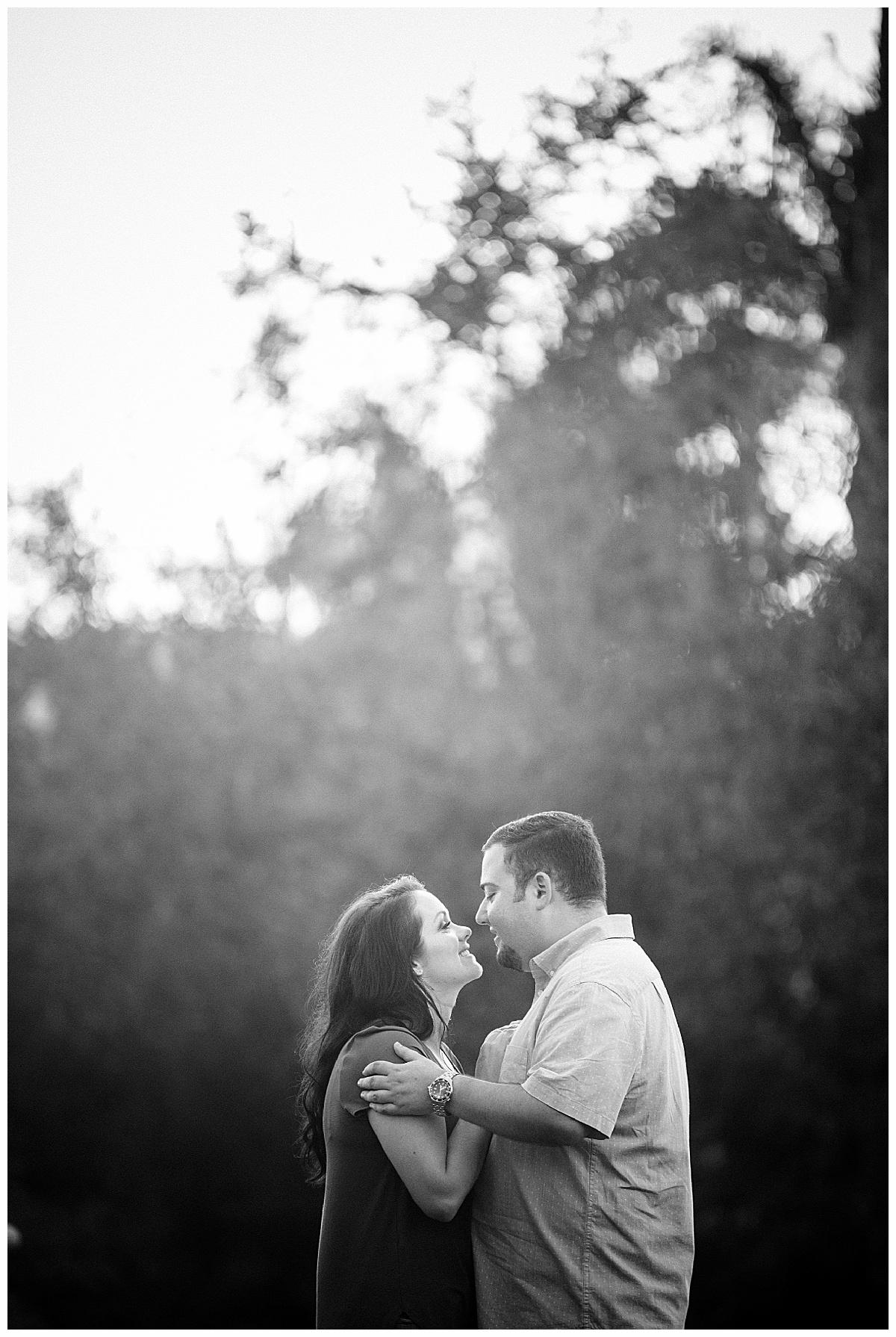Engagement photography at Memorial Park in Stuart Fl