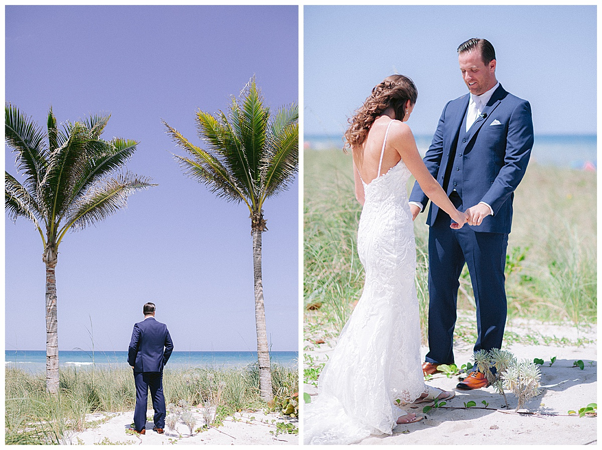 Hutchinson Shores Resort and Spa Wedding first look