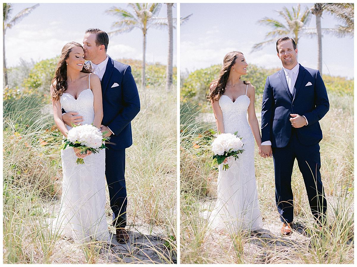 Hutchinson Shores Resort and Spa Wedding portrait location