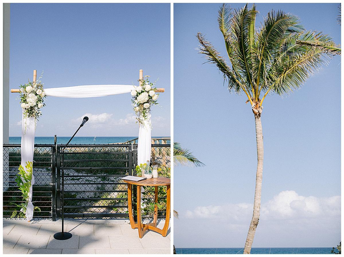 Wedding ceremony at Hutchinson Shores Resort and Spa