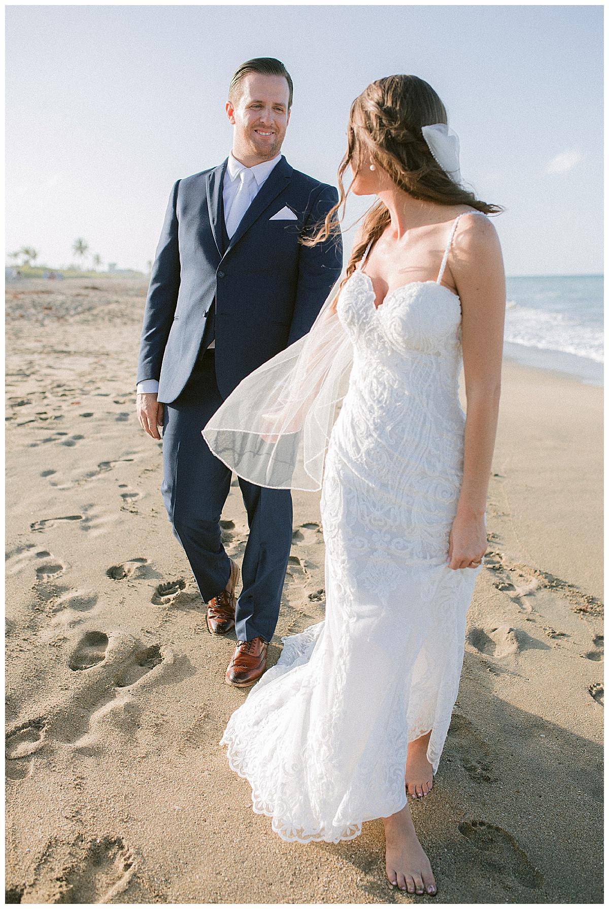 Beach photos Treasure Coast wedding venue